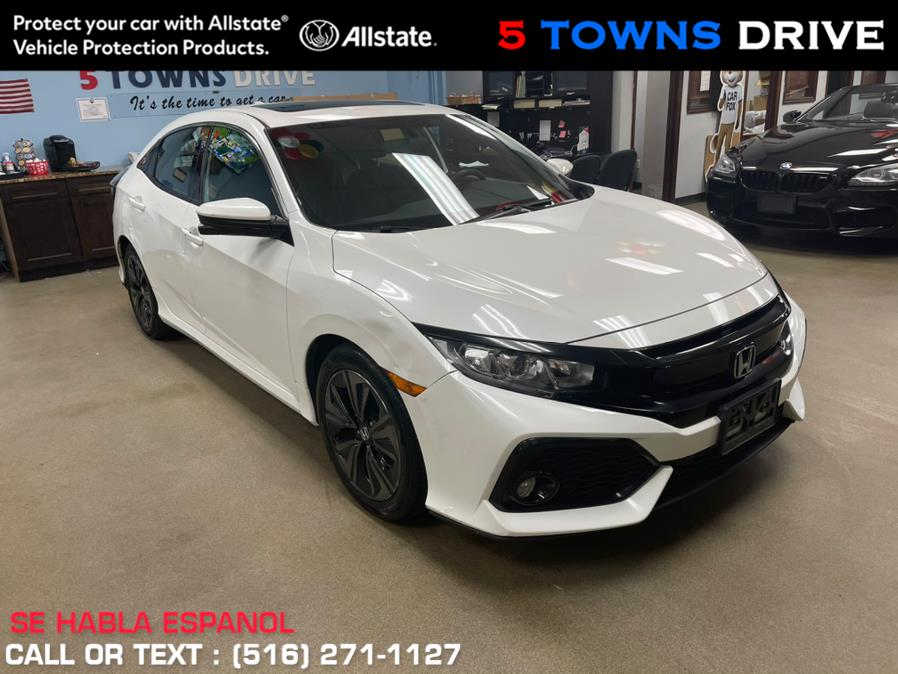 Used Honda Civic Hatchback EX CVT 2018 | 5 Towns Drive. Inwood, New York
