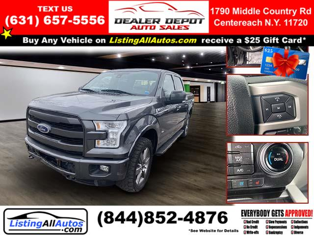 Used 2016 Ford F-150 in Patchogue, New York | www.ListingAllAutos.com. Patchogue, New York