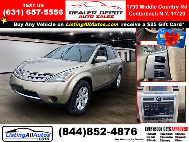 Used 2007 Nissan Murano in Patchogue, New York | www.ListingAllAutos.com. Patchogue, New York