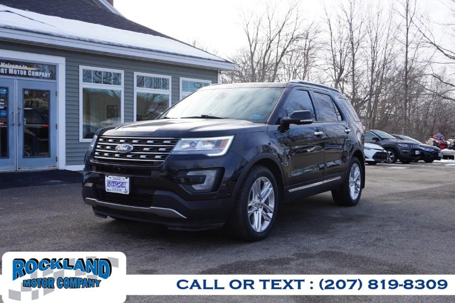 Used 2017 Ford Explorer in Rockland, Maine | Rockland Motor Company. Rockland, Maine
