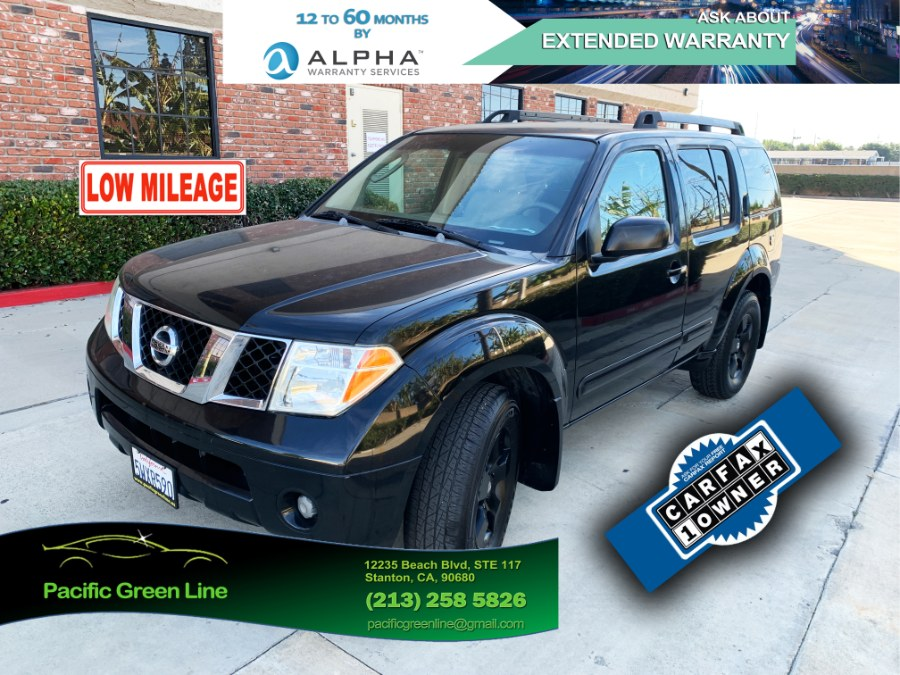 Used Nissan Pathfinder LE 2WD 2006 | Pacific Green Line. Stanton, California