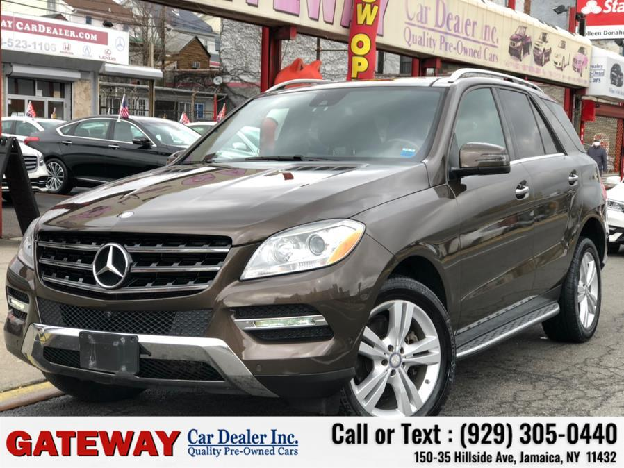 Used 2014 Mercedes-Benz M-Class in Jamaica, New York | Gateway Car Dealer Inc. Jamaica, New York