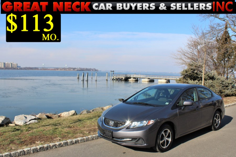 Used 2015 Honda Civic Sedan in Great Neck, New York