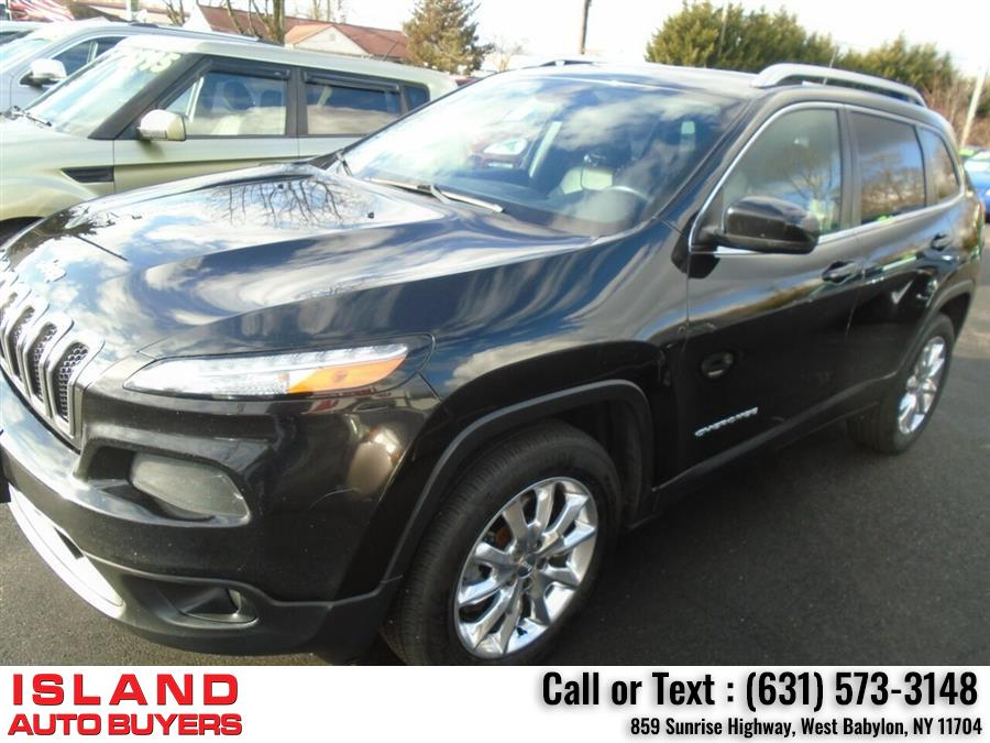 Used Jeep Cherokee Limited 4x4 4dr SUV 2016 | Island Auto Buyers. West Babylon, New York