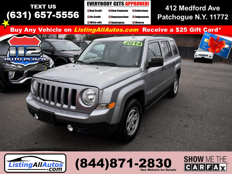 Used Jeep Patriot FWD 4dr Sport 2014 | www.ListingAllAutos.com. Patchogue, New York