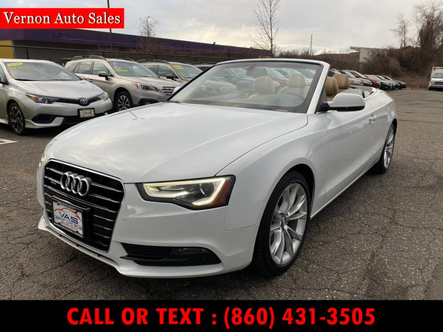 Used 2013 Audi A5 in Manchester, Connecticut | Vernon Auto Sale & Service. Manchester, Connecticut