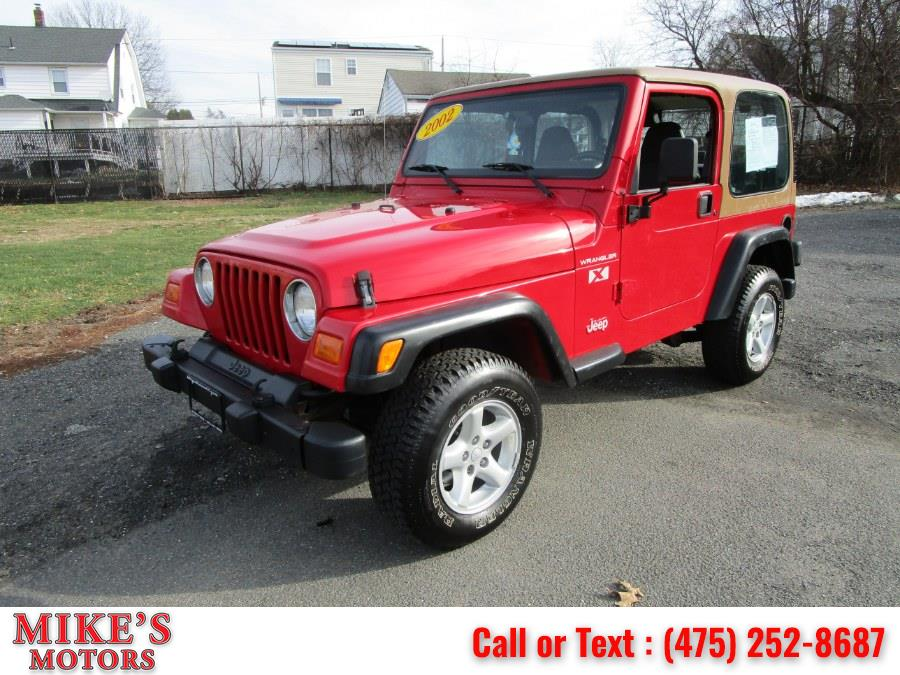 Used 2002 Jeep Wrangler in Stratford, Connecticut | Mike's Motors LLC. Stratford, Connecticut