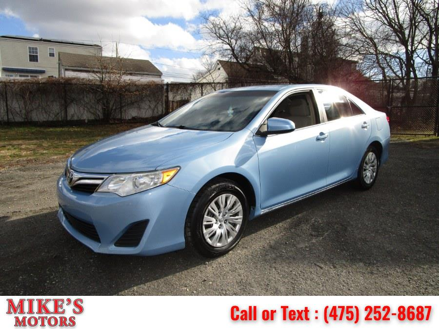 Used 2012 Toyota Camry in Stratford, Connecticut | Mike's Motors LLC. Stratford, Connecticut