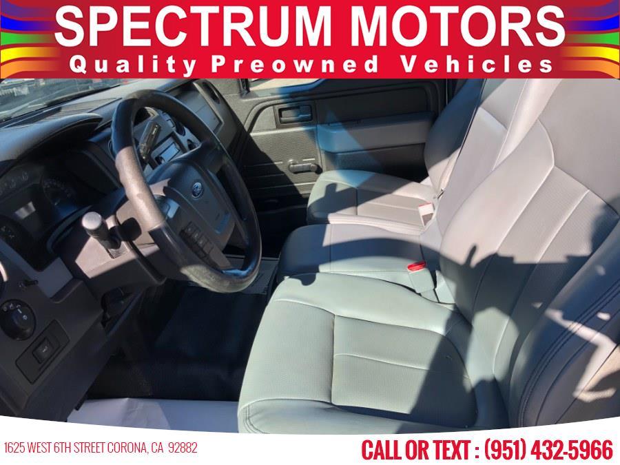 "Used Ford F-150 2WD Reg Cab 145"" XL 2014   Spectrum Motors. Corona, California"