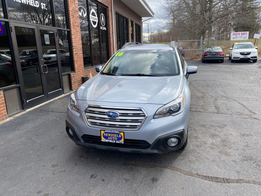 Used Subaru Outback 4dr Wgn 2.5i Premium PZEV 2016 | Newfield Auto Sales. Middletown, Connecticut