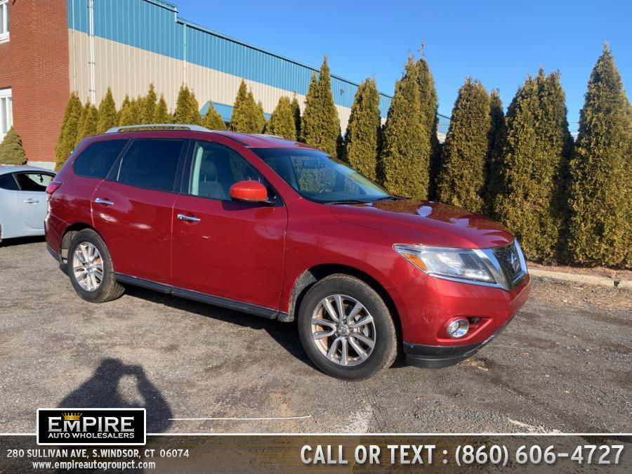 Used 2015 Nissan Pathfinder in S.Windsor, Connecticut | Empire Auto Wholesalers. S.Windsor, Connecticut