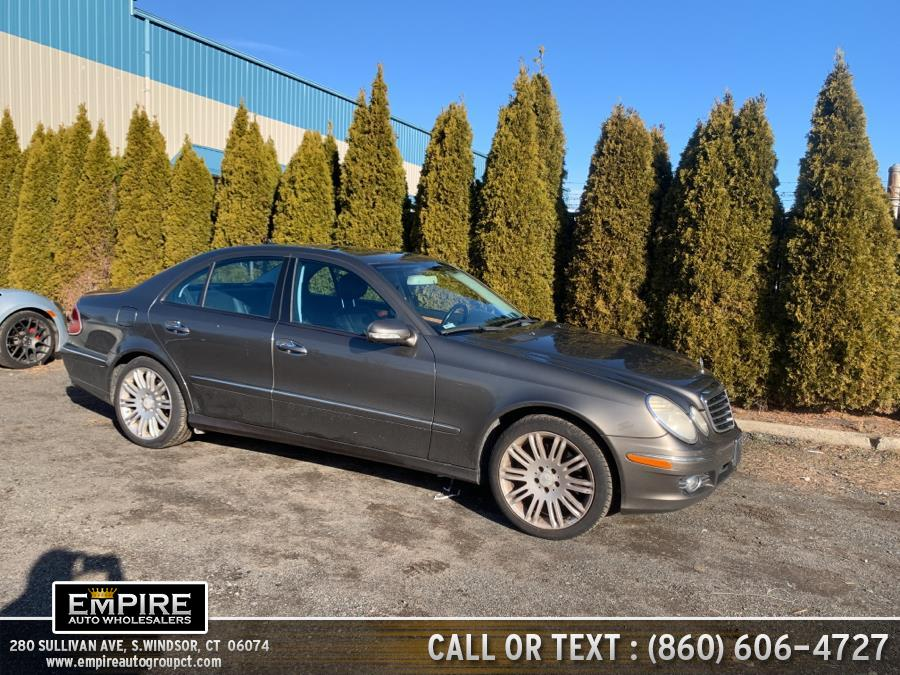 Used Mercedes-Benz E-Class 4dr Sdn Luxury 3.5L 4MATIC 2008 | Empire Auto Wholesalers. S.Windsor, Connecticut
