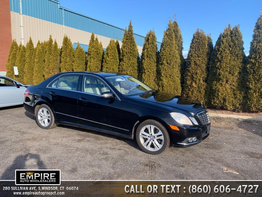 Used Mercedes-Benz E-Class 4dr Sdn E 350 Luxury 4MATIC 2010 | Empire Auto Wholesalers. S.Windsor, Connecticut
