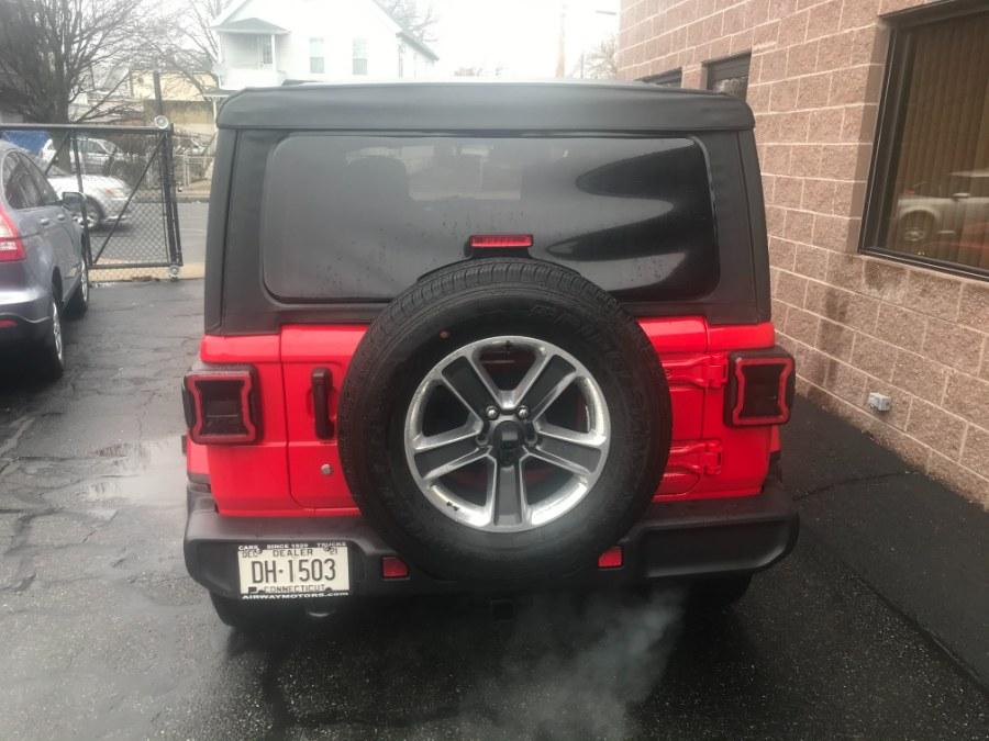Used Jeep Wrangler Unlimited Sahara 4x4 2020 | Airway Motors. Bridgeport, Connecticut