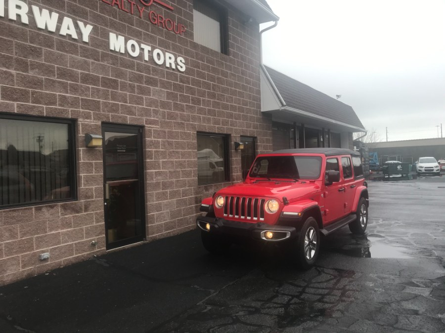 Used 2020 Jeep Wrangler Unlimited in Bridgeport, Connecticut | Airway Motors. Bridgeport, Connecticut