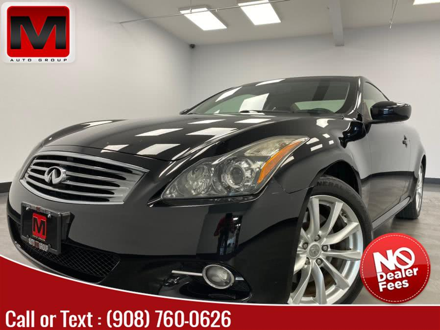 Used 2013 INFINITI G37 Coupe in Elizabeth, New Jersey | M Auto Group. Elizabeth, New Jersey