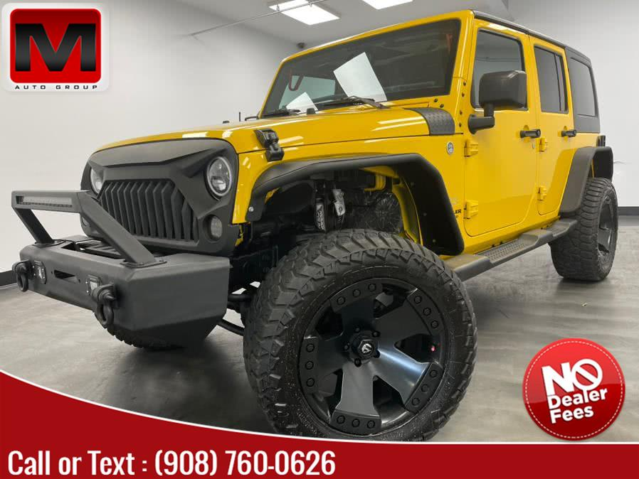 Used 2015 Jeep Wrangler Unlimited in Elizabeth, New Jersey | M Auto Group. Elizabeth, New Jersey