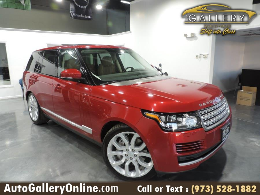 Used Land Rover Range Rover 4WD 4dr HSE 2016 | Auto Gallery. Lodi, New Jersey