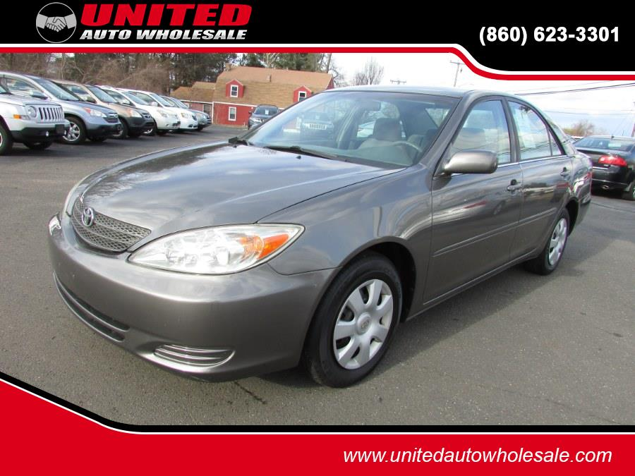 Used 2002 Toyota Camry in East Windsor, Connecticut | United Auto Sales of E Windsor, Inc. East Windsor, Connecticut