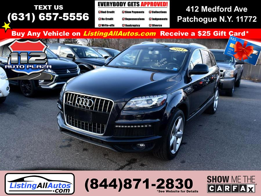 Used 2011 Audi Q7 in Patchogue, New York | www.ListingAllAutos.com. Patchogue, New York