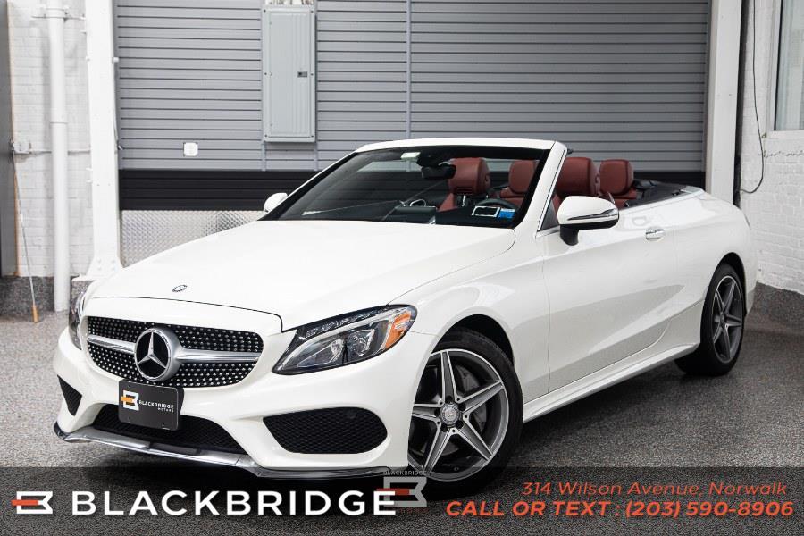 Used Mercedes-Benz C-Class C 300 4MATIC Cabriolet 2017 | Black Bridge Motors, LLC. Norwalk, Connecticut
