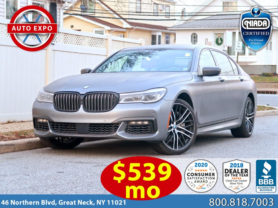 Used BMW 7 Series 750i M Sport Package 2017 | Auto Expo Ent Inc.. Great Neck, New York