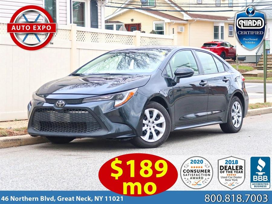 Used 2020 Toyota Corolla in Great Neck, New York | Auto Expo Ent Inc.. Great Neck, New York