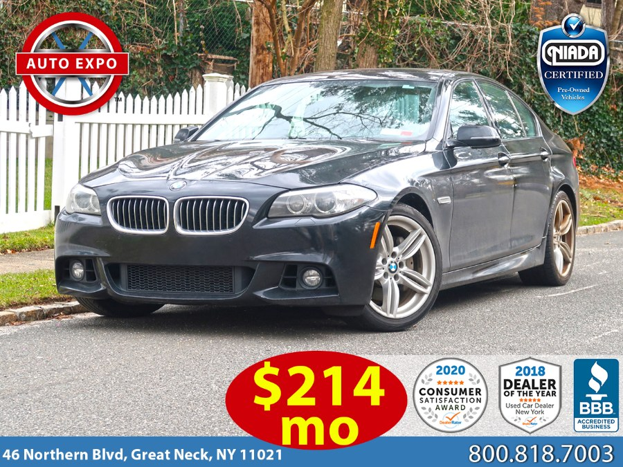 Used 2014 BMW 5 Series in Great Neck, New York | Auto Expo Ent Inc.. Great Neck, New York