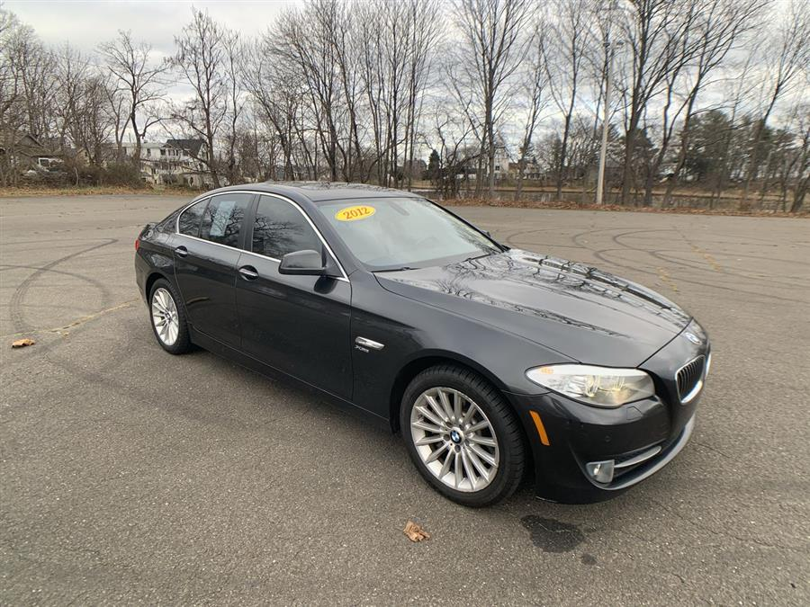 Used BMW 5 Series 4dr Sdn 535i xDrive AWD 2012 | Wiz Leasing Inc. Stratford, Connecticut