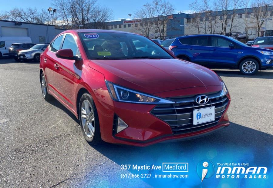 Used 2020 Hyundai Elantra in Medford, Massachusetts | Inman Motors Sales. Medford, Massachusetts