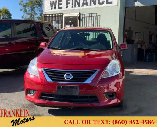 Used 2012 Nissan Versa in Hartford, Connecticut | Franklin Motors Auto Sales LLC. Hartford, Connecticut