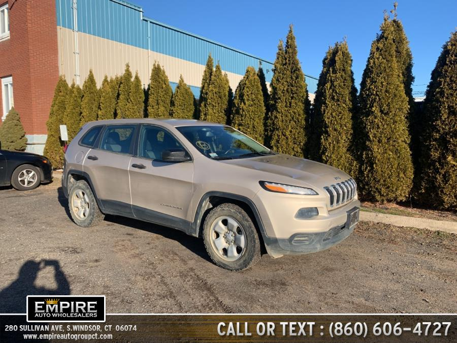 Used Jeep Cherokee 4WD 4dr Sport 2014 | Empire Auto Wholesalers. S.Windsor, Connecticut