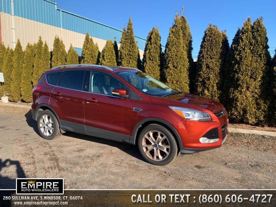 Used Ford Escape 4WD 4dr Titanium 2014 | Empire Auto Wholesalers. S.Windsor, Connecticut