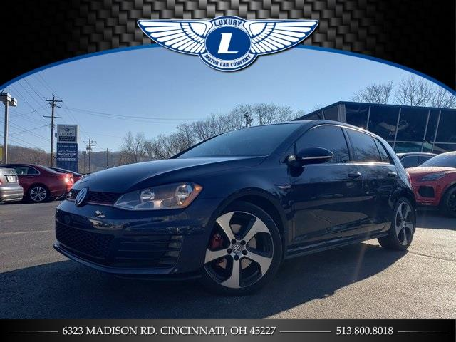 Used 2017 Volkswagen Golf Gti in Cincinnati, Ohio | Luxury Motor Car Company. Cincinnati, Ohio