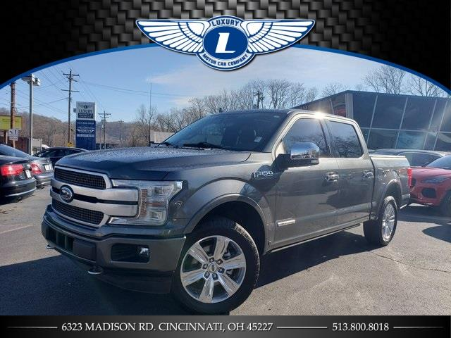 Used 2018 Ford F-150 in Cincinnati, Ohio | Luxury Motor Car Company. Cincinnati, Ohio