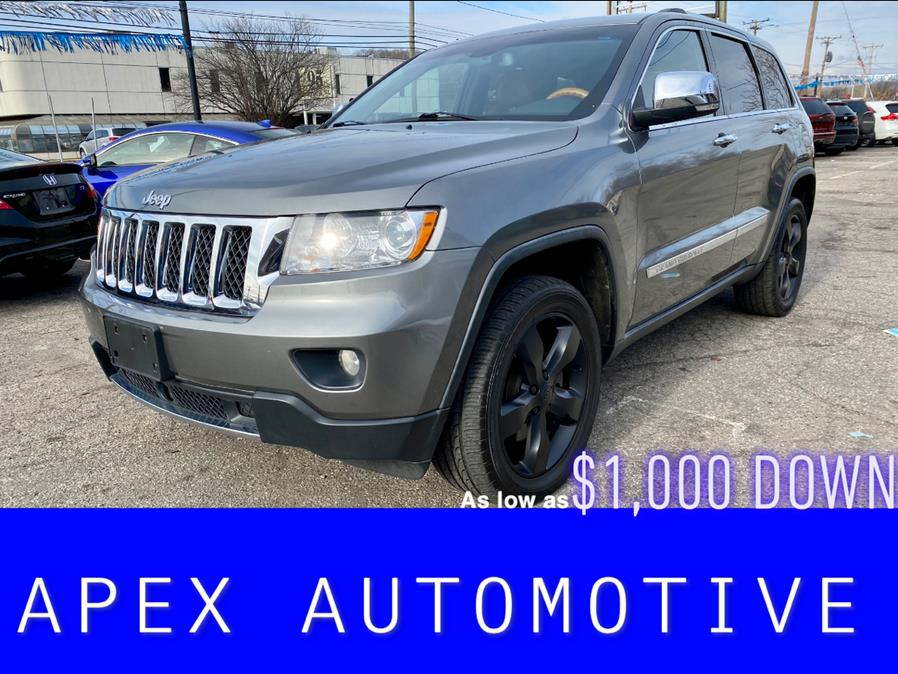 Used Jeep Grand Cherokee 4WD 4dr Overland 2012 | Apex  Automotive. Waterbury, Connecticut