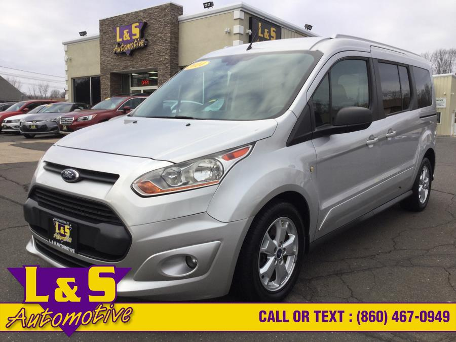 Used Ford Transit Connect Wagon 4dr Wgn LWB XLT 2014 | L&S Automotive LLC. Plantsville, Connecticut