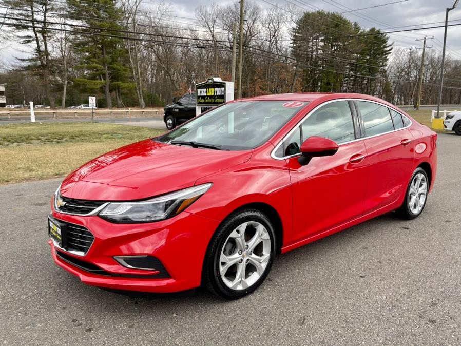 Used Chevrolet Cruze 4dr Sdn 1.4L Premier w/1SF 2017 | Mike And Tony Auto Sales, Inc. South Windsor, Connecticut
