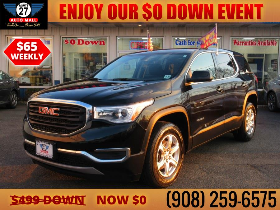 Used 2019 GMC Acadia in Linden, New Jersey | Route 27 Auto Mall. Linden, New Jersey