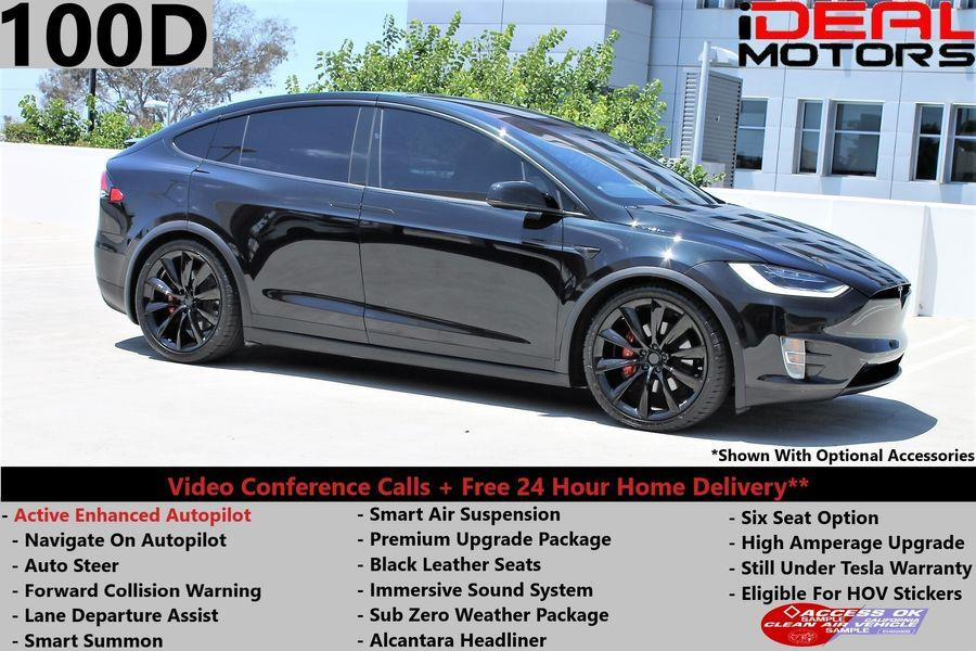 Used Tesla Model x 100D Sport Utility 4D 2018 | Ideal Motors. Costa Mesa, California