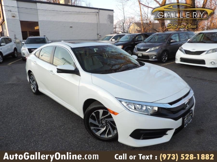 Used Honda Civic Sedan EX CVT 2017 | Auto Gallery. Lodi, New Jersey
