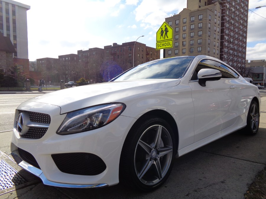 Used Mercedes-Benz C300 4MATIC Coupe //AMG Sport 2017   Top Speed Motors LLC. Jamaica, New York