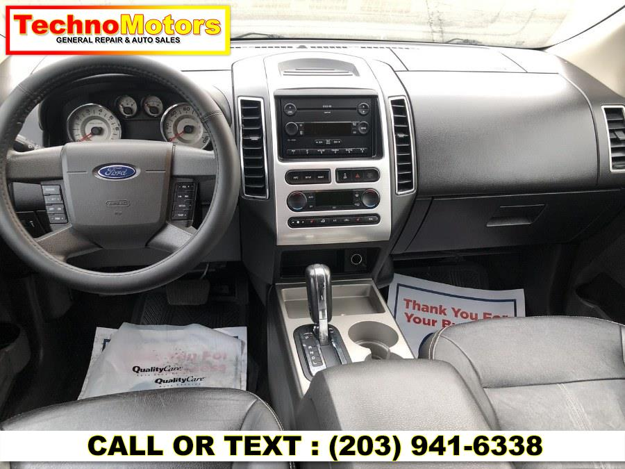 Used Ford Edge AWD 4dr SEL PLUS 2007   Techno Motors . Danbury , Connecticut