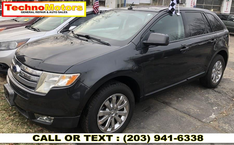 Used Ford Edge AWD 4dr SEL PLUS 2007 | Techno Motors . Danbury , Connecticut