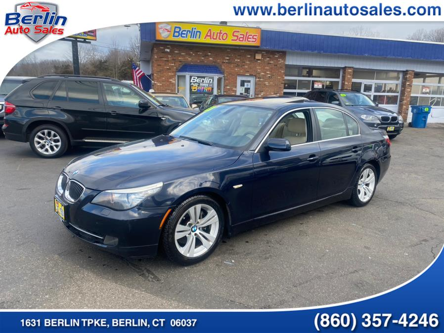 Used BMW 5 Series 4dr Sdn 528i RWD 2010 | Berlin Auto Sales LLC. Berlin, Connecticut