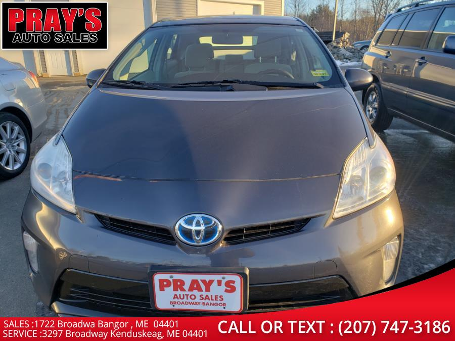 Used 2013 Toyota Prius in Bangor , Maine   Pray's Auto Sales . Bangor , Maine