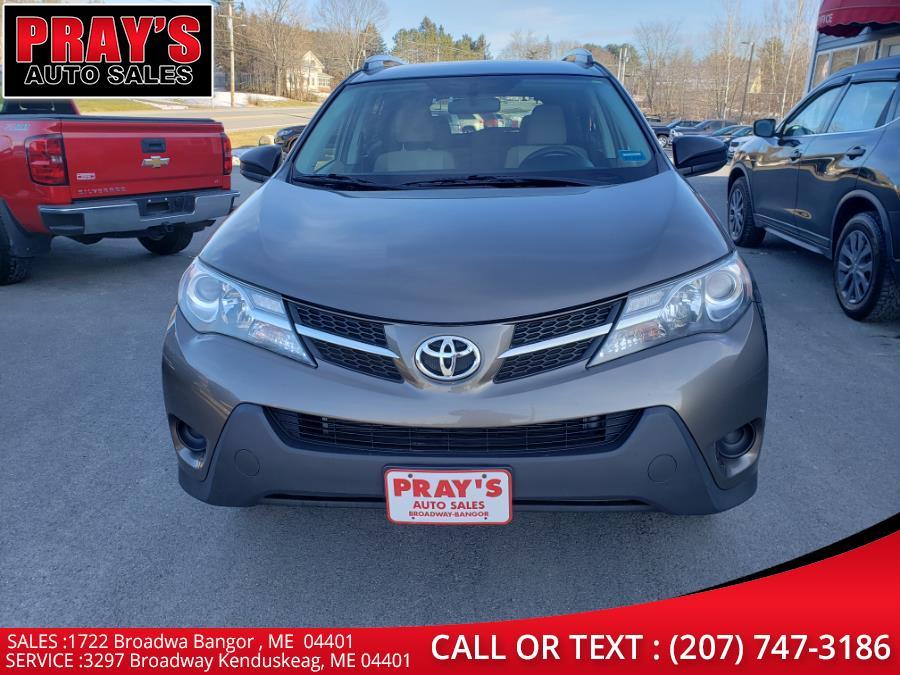 Used Toyota RAV4 AWD 4dr LE (Natl) 2013 | Pray's Auto Sales . Bangor , Maine