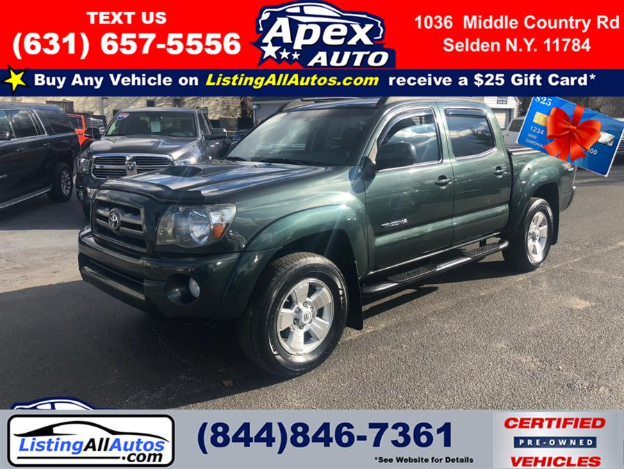 Used Toyota Tacoma 4WD Double V6 AT (Natl) 2010 | www.ListingAllAutos.com. Patchogue, New York