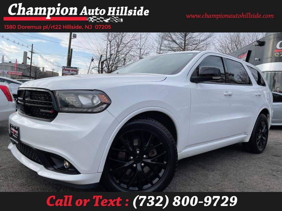 Used 2016 Dodge Durango in Hillside, New Jersey | Champion Auto Sales. Hillside, New Jersey