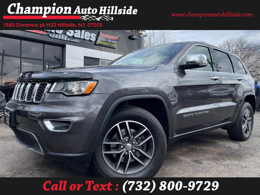 Used 2017 Jeep Grand Cherokee in Hillside, New Jersey | Champion Auto Hillside. Hillside, New Jersey